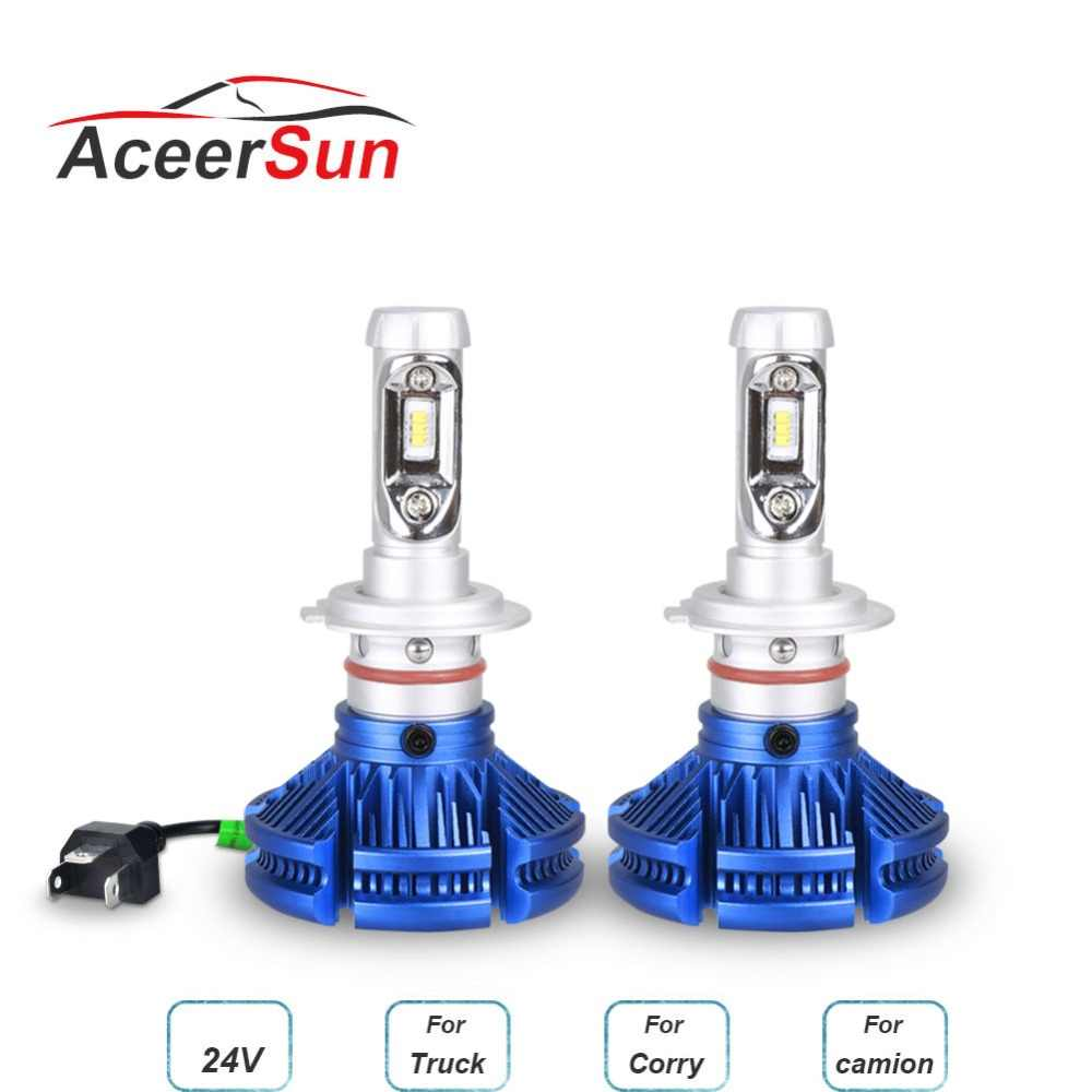 LED H7 H4 H11 H8 H9 LED Car Headlight Bulb mini Lamp 9005 HB3 9006 H1 H3 ampoule ZES Chip 12V 12000lm 60W 6500K 24V Auto Fanless