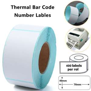 400PCS Printing Label 40x70mm