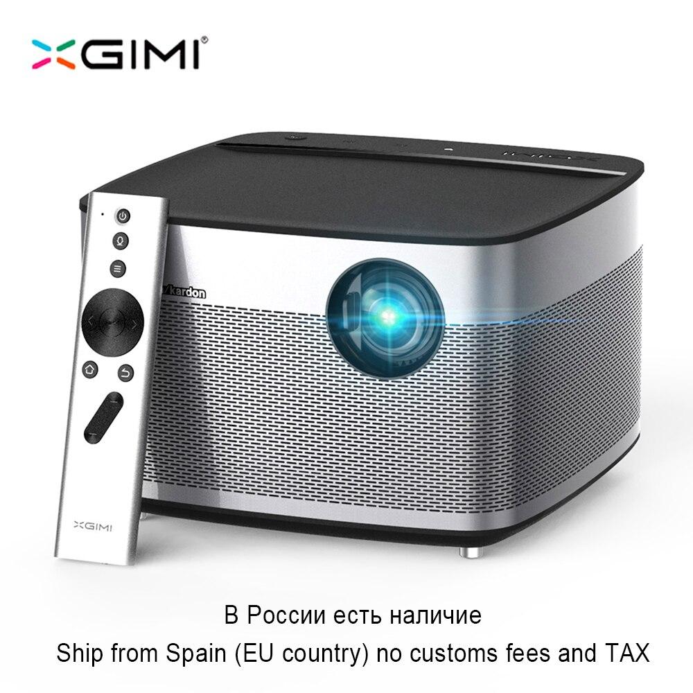 Xgimi H1 DLP проектор 1920x1080 Full HD затвора 3D Поддержка 4 К видеопроектор Android 5.1 Bluetooth, Wi-Fi дома Театр проектор
