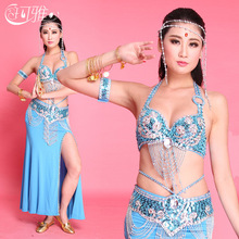 Belly Dance Costume Skirts Bollywood Dance Costumes Gypsy Indian Dresses Sexy Costumes 6 Colors Handmade Samba Carnival Costumes