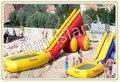 Горячие продажи коммерческого класса ПВХ Брезент новый крупнейший надувные водные горки с бассейном
