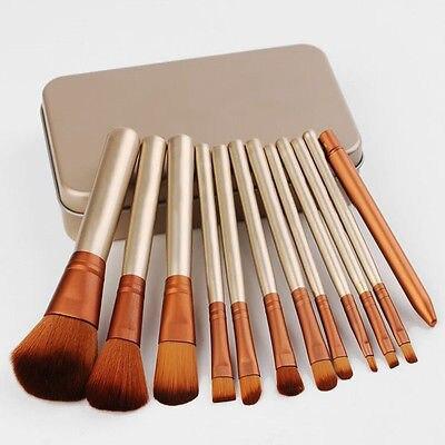 12 шт. = 1 компл. Профессиональные новый Н * 3 кисти для макияжа инструменты набор Make up Brush наборы инструментов для палитры теней Косметические Кисти