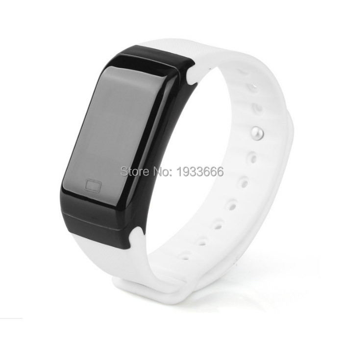 Digital bluetooth wristbracelet H3 step counter and calorie tracker touch screen smart wristwatch music and photo