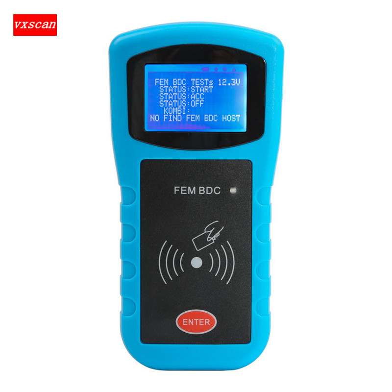 For BMW FEM/BDC Key Programmer Data Desktop Test Platform for FEM/BDC Key and Program ECU Gearbox Fast Shipping