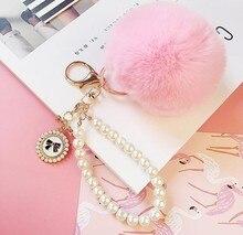de de pompones perlas
