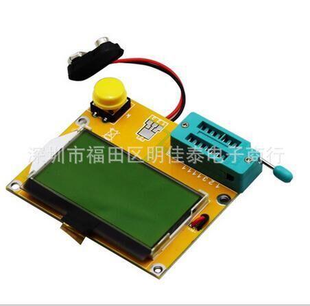 LCR-T4 Mega328 Multimeter LCD Backlight Transistor Tester Diode Triode Capacitance ESR Meter MOS PNP NPN LCR td 0 200v voltage tv laptop led lcd backlight tester lamp beads light board transistor geiger tester