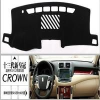 Free Shipping 2010 2012 Toyota Crown High Quality Console Avoid Light Pad Dashboard Protection Pad Car