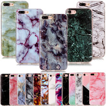 6a19acdeeef Marble Phone Cases For iPhone 4 4S 5 5S SE 5C 6 6s 8 6/7/8 Plus X Soft  Silicone Full Cover Protect TPU Cases For Touch 5 6 funda