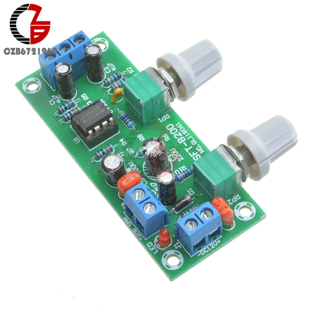 Dc 12v 24v Low Pass Filter Ne5532 Bass Tone Subwoofer Pre Amplifier Preamplifier Circuit Diagrams 1a