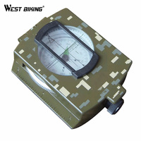 Camouflage High Quality Outdoor Sports Compass Military Liquid Damped Travelling Hiking Climbing Cycling Compass MTB Riding
