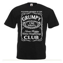 Grumpy Old Men's Club Funny Men's Funny  Funny Print Clothing Hip-Top Mans T-Shirt Tops Tees Fashion T-Shirts Summer 100% Cotton floral skull women t shirt s 3xl newstreetwear funny print clothing hip tope mans t shirt tops tees hot sale men t shirt fashion