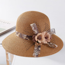 55fe98dc5c3 HT1666 2018 New Fashion Summer Sun Hats for Women Korea Flower Mesh Packable  Bucket Hats Ladies
