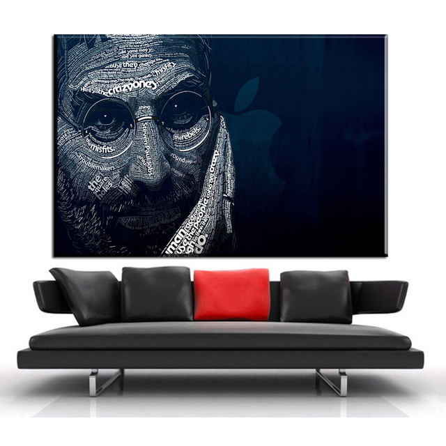 Xdr336 Wall Pictures Steve Jobs Poster 60X90cm Paintings Art Prints HD WALLPAPER For Living Room