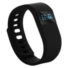 Бесплатная доставка TW64 Bluetooth 4.0 Pulsera inteligente Шагомер Браслет Сна Фитнес-трекер активности напоминание SmartBand