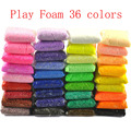 Play foam 36 colors Light Soft Colored Modeling Clay Model Magic Air Dry slime Plasticine slime and Play Dough 36pcs/lot