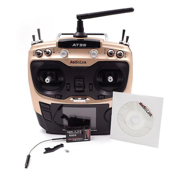 Radiolink AT9S 2.4G 10Ch Radio Control Transmitter and R9DS Receiver RC Model тарелка terracotta дерево жизни 21см дес керамика