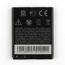 High Capacity Phone Battery  For HTC G13 A310e A510c A510e  HD3 HD7 T9292 T9295 Wildfire S A510E BD29100 1230mAH пенал автомат htc wildfire кожа