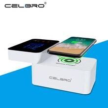 10W Qi Wiressless Fast Charger Carica Rapida 3.0 Multi Caricabatteria USB Da Tavolo HUB Stazione di Ricarica Universale Wireless Charger Pad