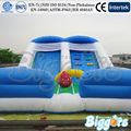 High Quality PVC Commercial Inflatable Slide ,Inflatable Jumping Slide With Double Lane