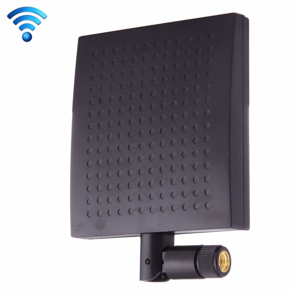 12dBi SMA conector macho 2,4 GHz Panel WiFi antena