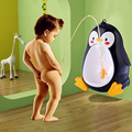 Top Sale Cute Penguin Kids Boys Potty Toilet Training Baby Toddler Urinal Pee Trainer Children Wall-Mounted Baby Potties