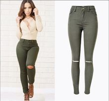 Green skinny jeans for women online shopping-the world largest ...