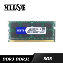 Wholesale 8gb ddr3 ddr3l 1600 pc3l-12800 so-dimm laptop, memory ram ddr3 8gb 8g 1600Mhz 1333Mhz 1333 PC3-10600 sodimm notebook(China)