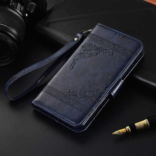 Для samsung Galaxy A50 A30 A40 A10 S10 S9 S8 S7 J3 J5 J7 J1 2016 2017 A6 A7 J2 J6 J4 Plus 2019 Fundas 3D цветок кожаный чехол