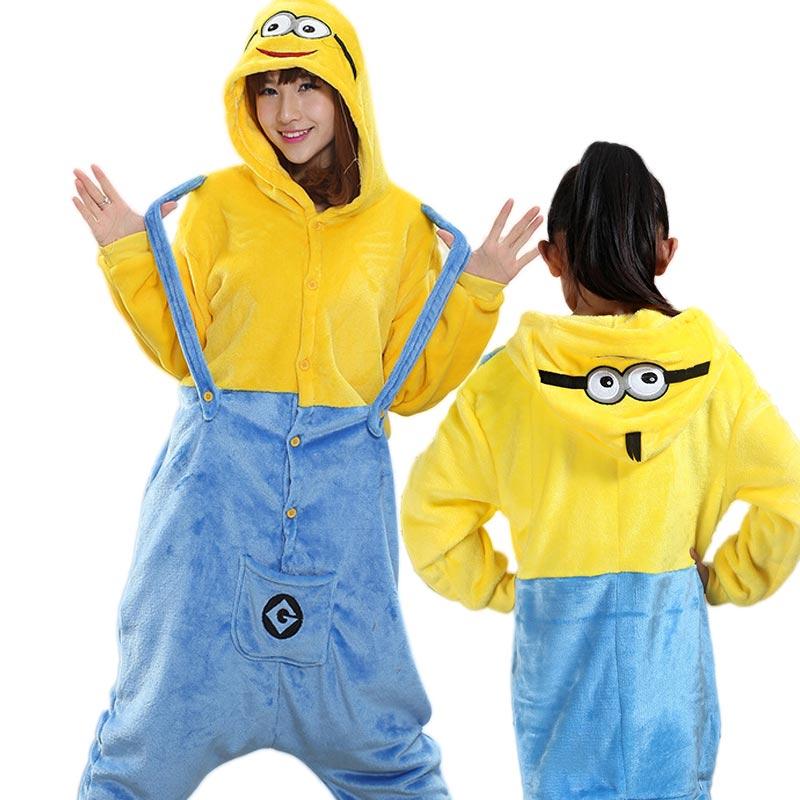7a1d500bbf06 Family christmas pajamas clothes Minions Cosplay Kigurumsi kids Pyjamas  Onesies Animals set adult Pajamas kids Christmas gift