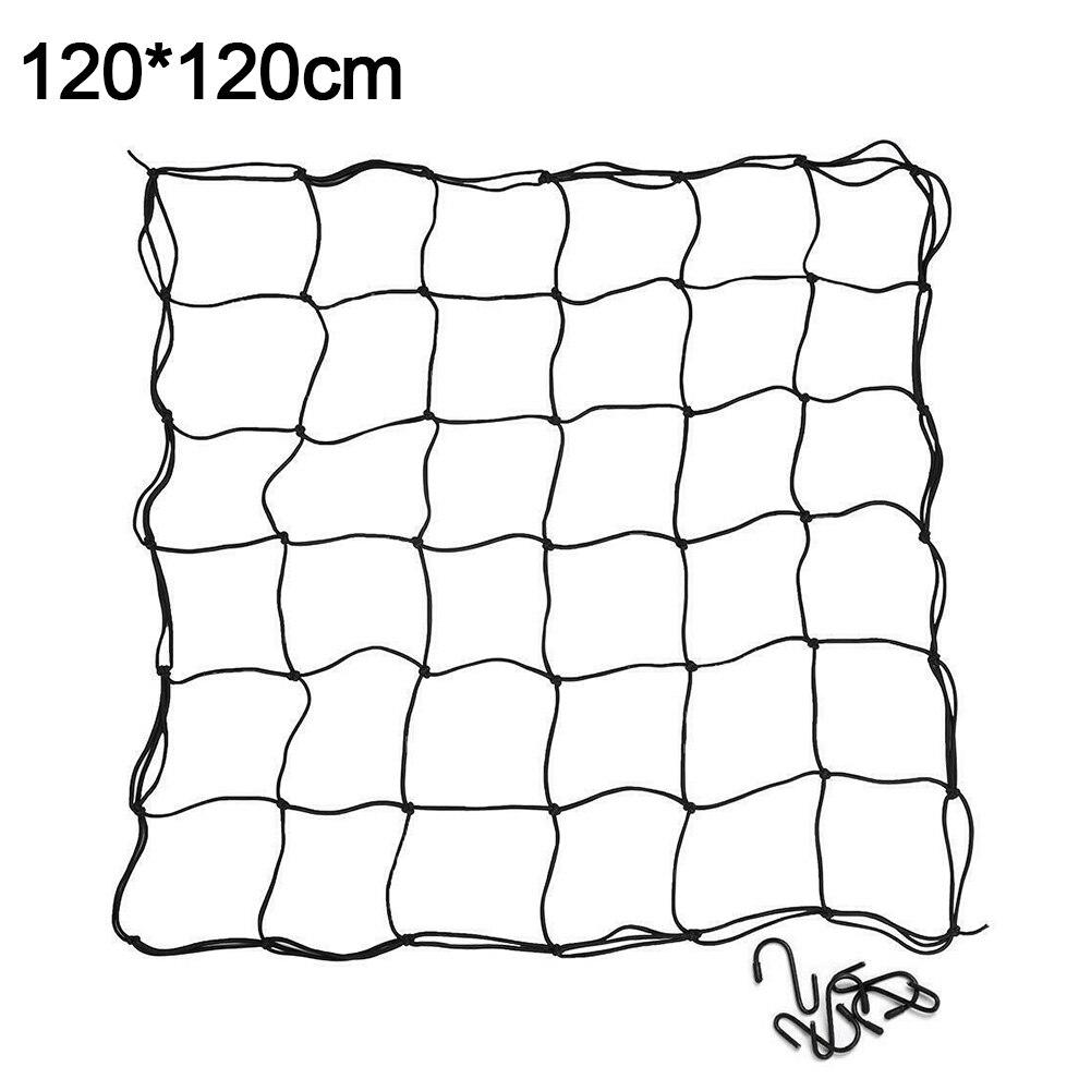 Knitting Flexible Trellis Bean Home Fence Garden Elastic Netting Farm Plant Tents Practical Steel Hooks Mesh