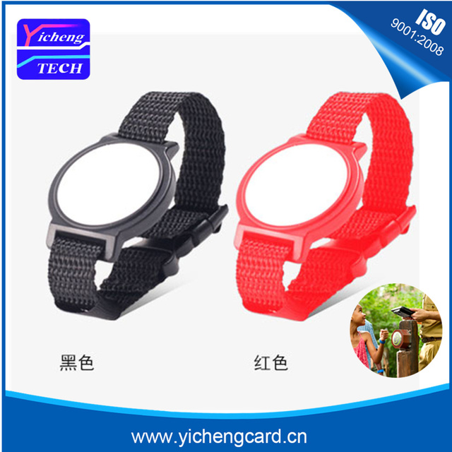RFID-Bracelet en Nylon 13.56MHz | 3 pièces, étiquette NFC, carte de proximité intelligente Ntag215, étanche pour un paiement rapide, livraison gratuite