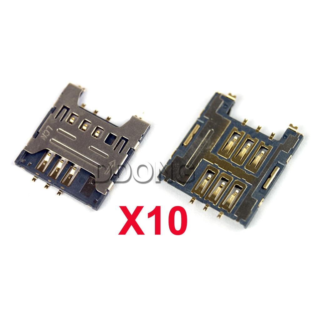10PCS SIM Card Tray Reader Module Holder For Samsung Galaxy S Duos I919 I919U S2 Duos I929 E110 S8600 Wave 3