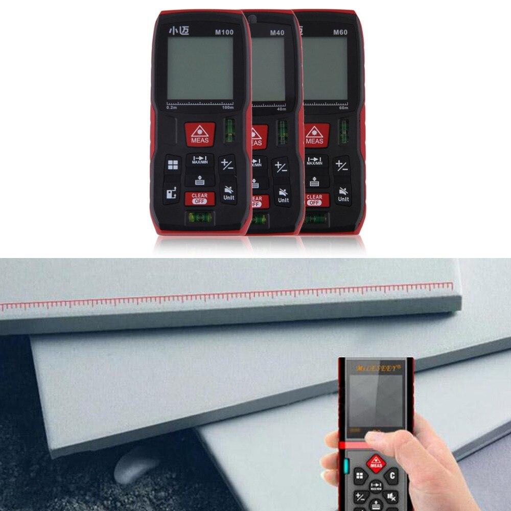 ФОТО High Quality Handheld Rangefinder Laser Distance Meter Digital Range Finder 40m 60m 100m