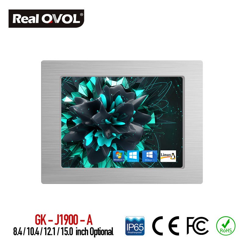 все цены на All In One Computer Intel J1900 industrial panel pc with resistance touch screen 32G SSD 2G RAM fanless Computer(without button) онлайн