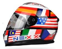 Новое поступление NEXX мотоциклетный шлем мужские анфас шлем профессиональный гоночный шлем moto каско motocicleta capacete еэк утверждено