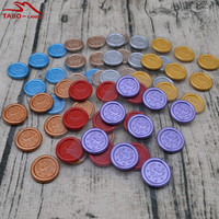 Hot Selling Best Quality Flexible Reflect Wax Seal Stickers Self Adhesive Sealing Wax Stickers For Xmas