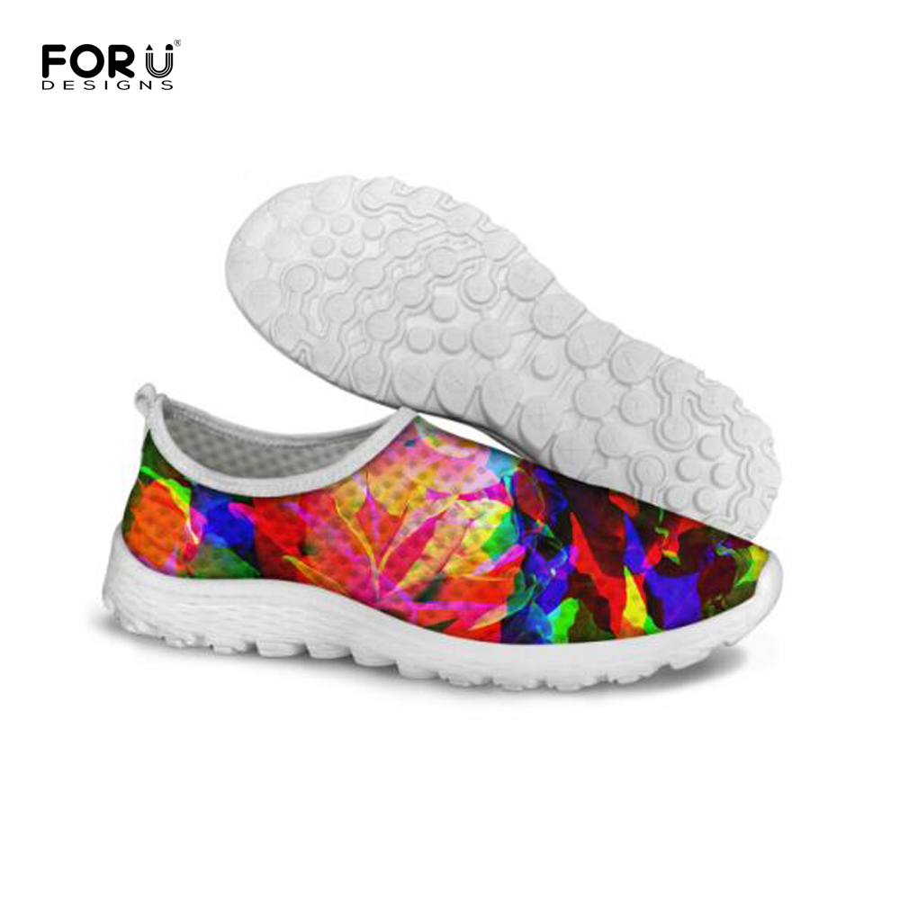 FORUDESIGNS Breathable Walking Shoes for Women,Ladies Summer Casual Mesh Shoes,Fashion Girls Light Flats Shoes Plus Size 35-41 new 2017 spring summer women shoes pointed toe high quality brand fashion womens flats ladies plus size 41 sweet flock t179