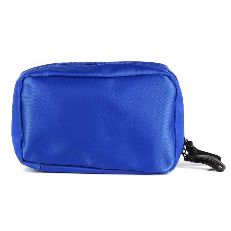 XYDYY Travel Cosmetic Bag Nylon Makeup Case Women Zipper Hand Holding Make Up Handbag Organizer Storage Pouch Toiletry Wash Bags