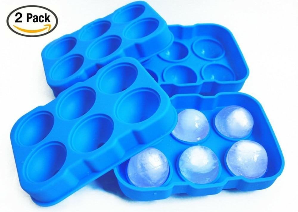 nueva silicona ice bandeja esfera fabricantes de la bola de hielo ronda fabricante de moldes esferas