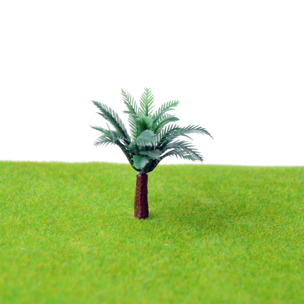 1/300 SCALE PALM TREES Miniature Model Trees For MODEL Landscape Train Railway Park Scenery