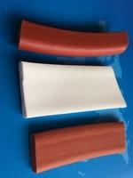 Direct Selling Extrued Silicone Sponge Strip 25X30mmX1meter Square Foam Silicon Strip White Color Silicone Foam Strip