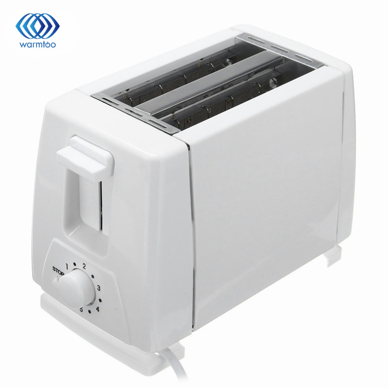 EU Plug 750W Household Automatic Bread Toaster Baking Bread Maker Machine 2 Slices Slots For Breakfast Multifunctional 230V cukyi 2 slices bread toaster household automatic toaster breakfast spit driver breakfast machine