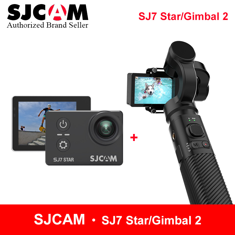 SJCAM Handheld Gimbal 2 3-Axis Stabilizer for SJ6 SJ7 SJ8 series SJ8 pro match with SJCAM SJ7 star yi 4K wifi remote action cam update sjcam handheld gimbal sj gimbal 2 3 axis stabilizer bluetooth control for sjcam sj8 series sj7 star sj6 sj8 pro yi 4k cam