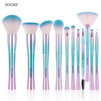 Docolor 11pcs Makeup Brushes Set Best Christmas Gift Powder Foundation Eyeshadow Make Up Brushes Cosmetic Soft