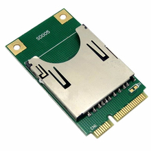Mini PCI-E Express pcie pci express pci-express to SD SDHC MMC Memory adapter Card Converter Reader