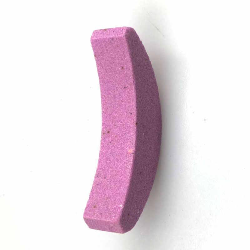 Cadena VI dientes sacapuntas Whetstone sierra de cadena de lijado de piedra y 2-12,5mm taladro portátil poco afilador corindón de rueda
