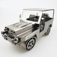 24*12* 12cm Office decoration retro handmade metal classic car model collection men gifts children toys retro home accessories