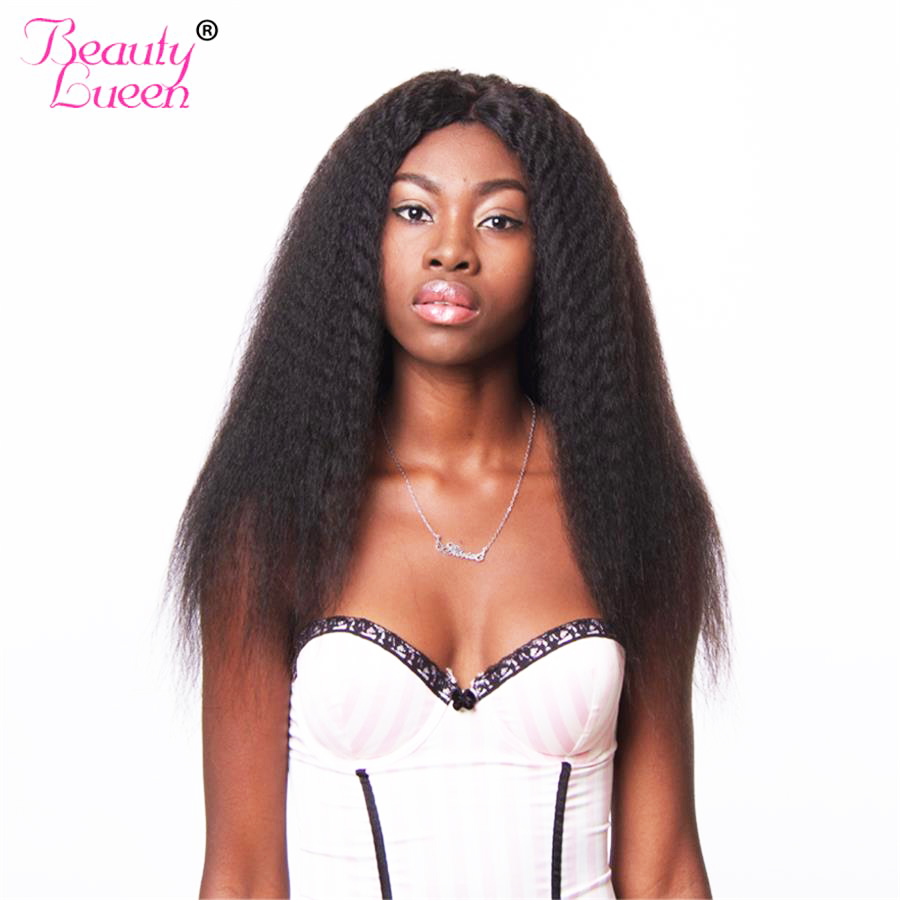 Straight perm and dying hair - Kinky Straight Hair Brazilian Hair Weave Bundles 100 Human Hair Bundles Natural Color Can Be
