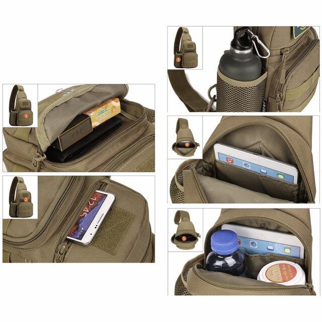 תיק כתף איכותי למחנאות וטיולים קצרים 5