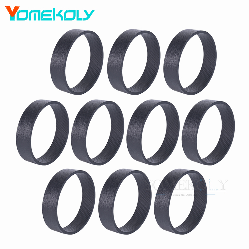 10PCS Vacuum Cleaner Spare Parts Belts for 301291 Kirby Replacement Vacuum Belt fits all Generation Series Models G3 G4 G5 G6